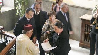 Las imágenes del nuevo subdelegado del Gobierno en Almería