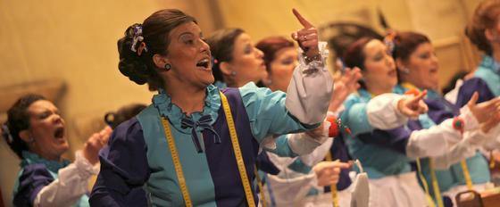 Coro Este coro tiene tela  Foto: Jesus Marin
