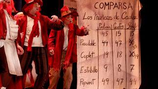 Comparsa Los duendes coloraos  Foto: Jesus Marin