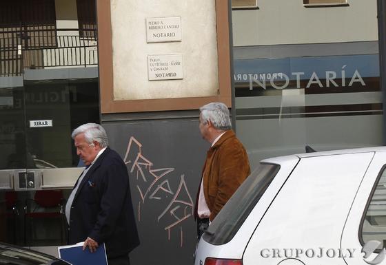 El empresario y representantes de algunos jugadores del Sevilla, Jesús Rodríguez de Moya.  Foto: Juan Carlos Muñoz/Antonio Pizarro