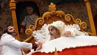 Chirigota Los herederos del Conde de Salvatierra...  Foto: Lourdes de Vicente