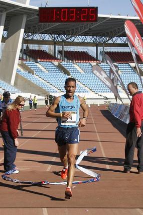 Las imágenes de la Media Maratón