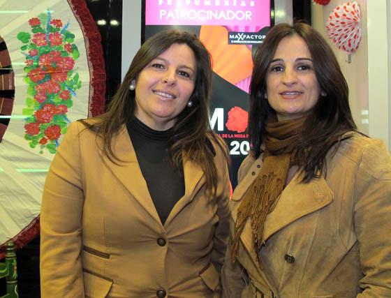 Las diseñadoras Isabel Bizcocho y Sonia Barco, de Sonia & Isabelle (Sonibel).   Foto: Victoria Ramírez