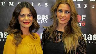 María José Suárez y Elisabeth Reyes.  Foto: Victoria Ramírez