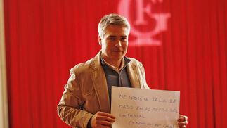 El concejal de Fiestas, Vicente Sánchez  Foto: Lourdes de Vicente