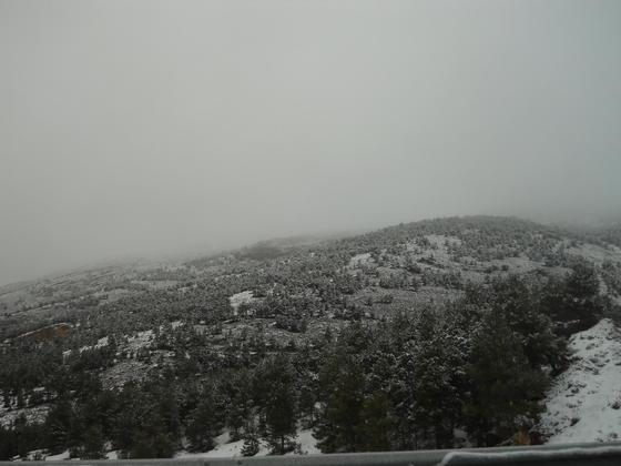 Las imágenes del descenso de las temperaturas