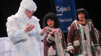 El cuarteto 'No hay esquimal que por bien no venga', primer premio.  Foto: Jesus Marin