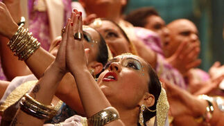 Coro Bollywood  Foto: Lourdes de Vicente