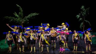 Murga 'De perdidos al río'  Foto: Fundación Carnaval de Málaga