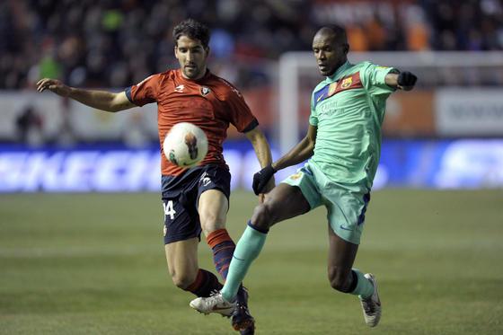 El Barcelona se deja sorprender por el Osasuna en el Reyno de Navarra (3-2). / AFP