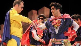Comparsa 'Los superhéroes'  Foto: Lourdes de Vicente / Jesus Marin