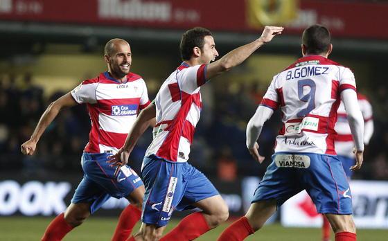 El Granada de Abel encaja su primera derrota al caer contra el Villarreal (3-1). / EFE