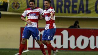 El Granada de Abel encaja su primera derrota al caer contra el Villarreal (3-1). / LOF