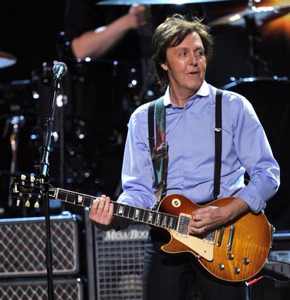 Paul McCartney durante su actuación en la gala. / AFP