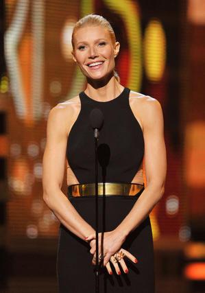 La actriz Gwyneth Paltrow, durante la gala. / AFP