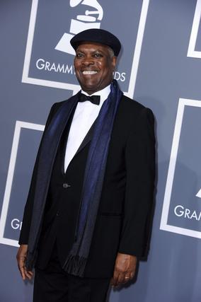 El veterano músico Booket T Jones, a su llegada a la gala. / EFE