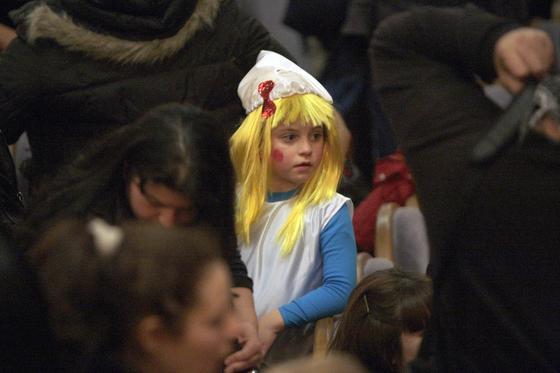 Las imágenes del Carnaval infantil