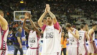 El Banca Cívica se mete en semifinales de la Copa del Rey a costa de Unicaja (65-77). / ACB Photo