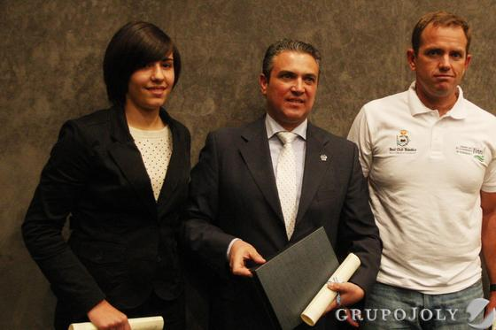 De izquierda a derecha: Valeria Palma, Javier Baglietto, Rafa Trujillo  Foto: Paco Guerrero