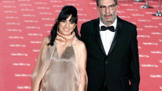El presidente de la Academia de Cine, Enrique González Macho, y la vicepresidenta, la guionista, Judith Colell  Foto: EFE