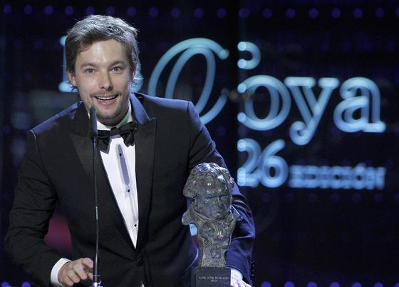 Jan Cormet, mejor actor revelación.  Foto: EFE