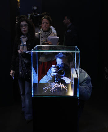 La exposición de la Sábana Santa podrá verse en la Catedral de Málaga hasta junio  Foto: Sergio Camacho