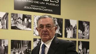 Jesús Martín Cartaya, autor de las fotografías.  Foto: Juan Carlos Muñoz