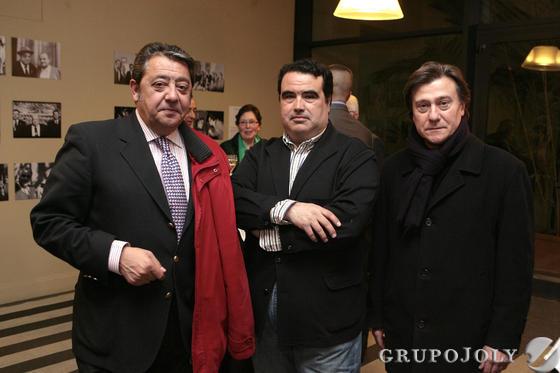 Manuel Henares Ortega, Álvaro Pastor y Manuel González Barbero.  Foto: Juan Carlos Muñoz