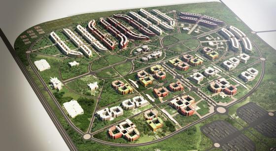 'Masterplan' del nuevo campus de la RSUST.  Foto: Málaga Hoy