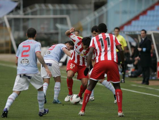 Las imágenes del Celta de Vigo-Almería