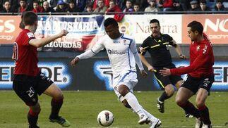 Las imágenes del Osasuna- Granada