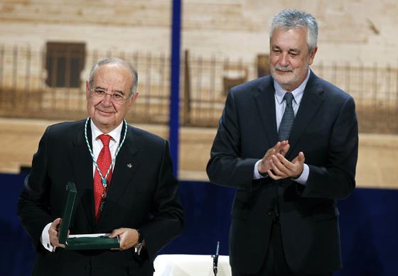 Antonio Pérez Lao, Medalla de Andalucía.  Foto: Antonio Pizarro