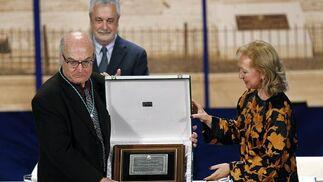 Luis Gordillo, Hijo Predilecto de Andalucía.  Foto: Antonio Pizarro