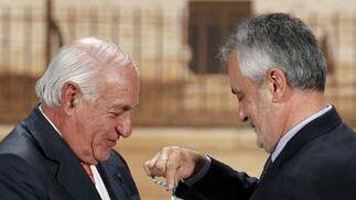 Juan Ramón Guillén, Medalla de Andalucía.  Foto: Antonio Pizarro