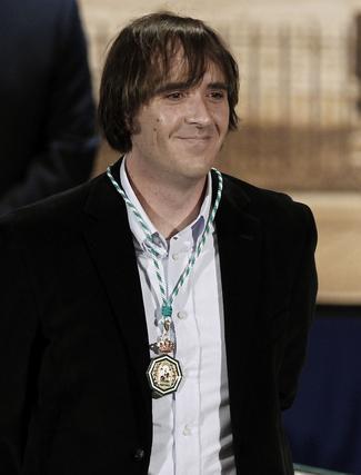 Juan Luis Pérez, Medalla de Andalucía.  Foto: Antonio Pizarro