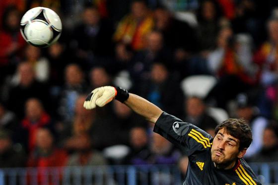 España golea a Venezuela en La Rosaleda con una exhibición de fútbol. / AFP