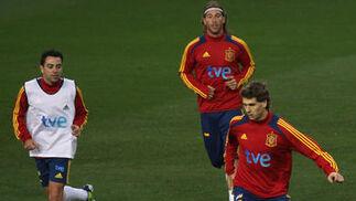 Casi 20.000 acuden a La Rosaleda a ver entrenar a la selección española  Foto: Migue Fernandez