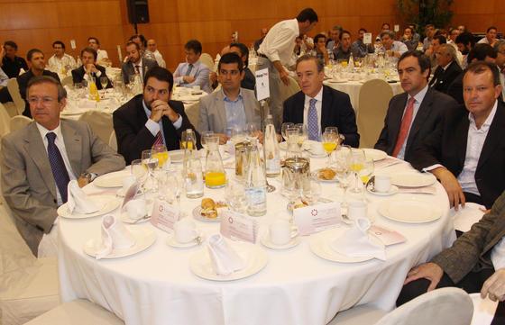Juan Cobalea, Javier Gómez, Manuel García, Manuel Atencia, Juan Chamorro y Sebastián Rodríguez.  Foto: Javier Albiñana y Miguel Fernández