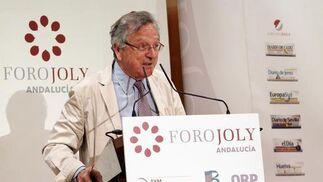 Rafael Moneo durante su intervención.  Foto: Javier Albiñana y Miguel Fernández