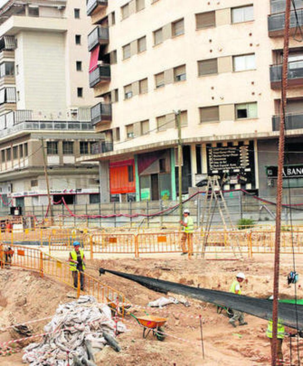 El Metro reanuda la obra en Callejones del Perchel tras dos meses de ...
