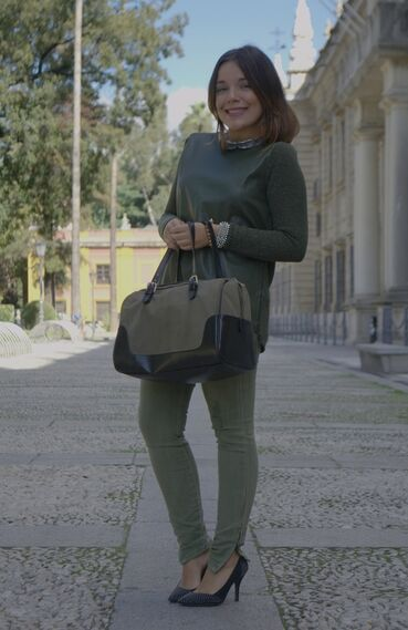 Verde militar - Outfit