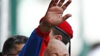 Hugo Chávez tras ganar sus anteriores elecciones.  Foto: Efe/AFP/Reuters