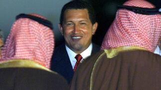Chávez con miembros de la OPEP en 2000  Foto: Reuters