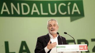 Discurso de José Antonio Griñán.  Foto: L. Rivas