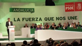 Discurso de José Luis Rodríguez Zapatero.  Foto: L. Rivas