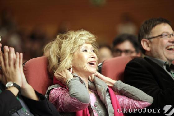 María Teresa Fernández de la Vega.  Foto: L. Rivas