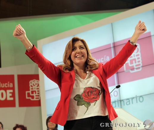 Clausura del congreso del PSOE-A.  Foto: L. Rivas