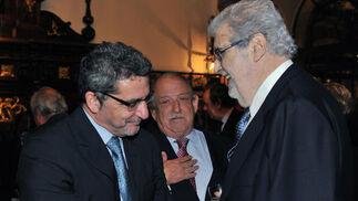 Con el alcalde de Alcalá de Guadaíra, Antonio Gutiérrez Limones.