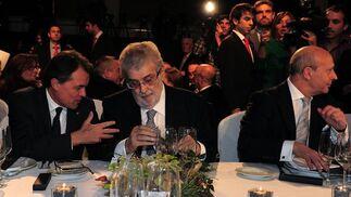 La cena de entrega de los Premios Planeta de 2012, a la que acudieron Artur Mas y el ministro Wert, vino precedida de las rotundas declaraciones de Lara contra la independencia de Cataluña./ Lluis Gené