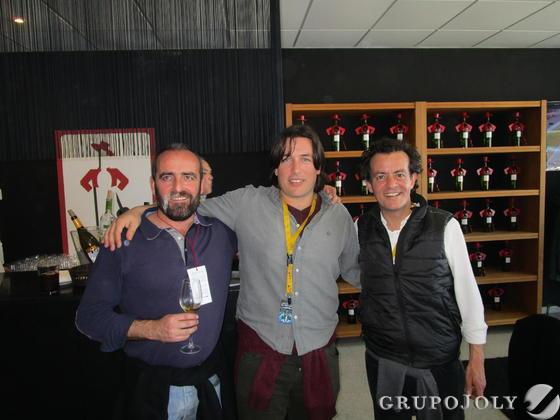 Salvador Real, Javier Vicente y Marcos Valcarcel.  Foto: Ignacio Casas de Cirio